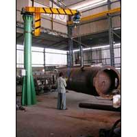 Standerd Jib Crane with Powerized Boom Rotation