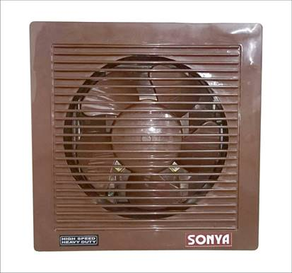 "8""High Speed Shutter Type Exhaust Fans - Brown"
