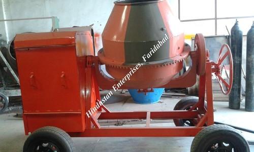 Portable Concrete Mixer 03