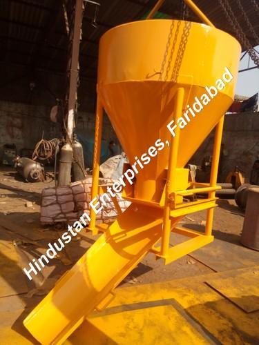Side Discharge Arrangement Cone Type Concrete Bucket 01