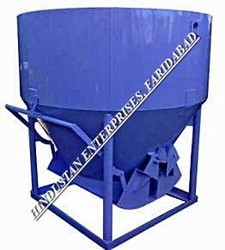 Side Discharge Arrangement Cone Type Concrete Bucket 03
