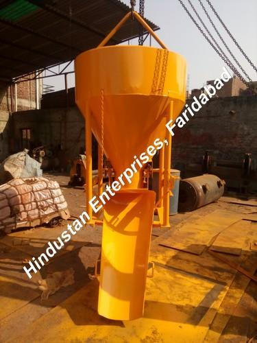 Side Discharge Arrangement Cone Type Concrete Bucket 06