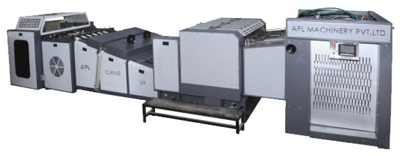 Fully Automatic UV Coating and Curing Machine