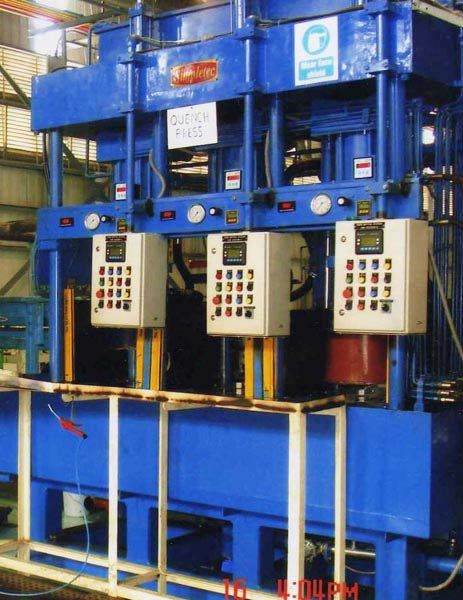 3-Station Quench Press (40T)