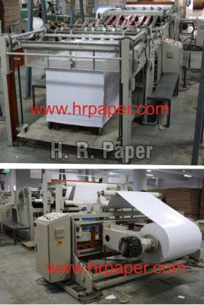 Paper Reel to Sheet Cutting Machine (HR SC 206)