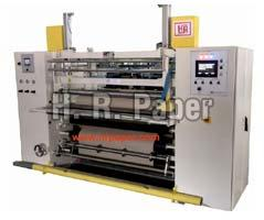 Slitting & Rewinding Machine (HR SR 121 Shaft Less)