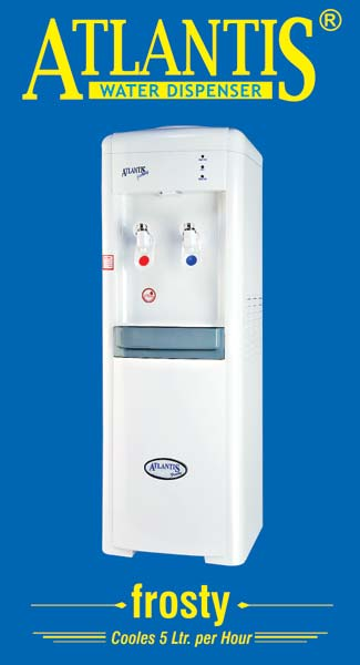 Atlantis Frosty Hot and Cold Water Dispenser