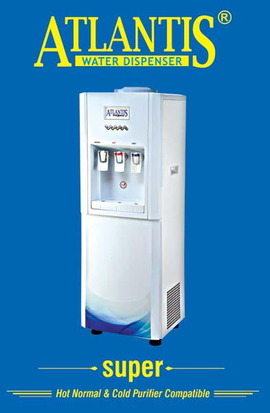 Atlantis Super Hot/Normal/Cold Water Dispenser with RO Compatible