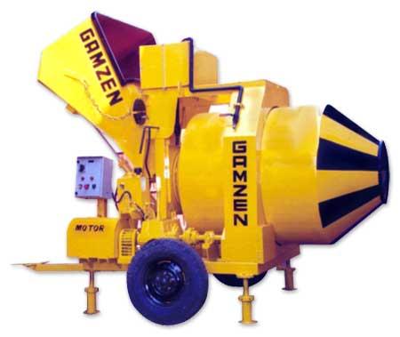 Reversbile Drum Electric Concrete Mixer