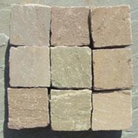 Raj Green Sandstone Cobbles
