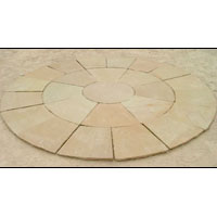 Yellow Sandstone Circle