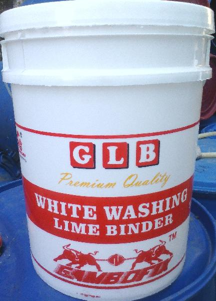 White Washing Lime Binder