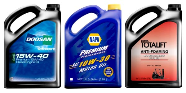 Lubricant Packaging Labels