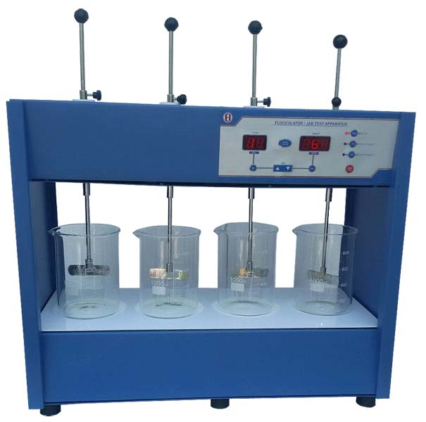 Flocculator/Jar Test Apparatus