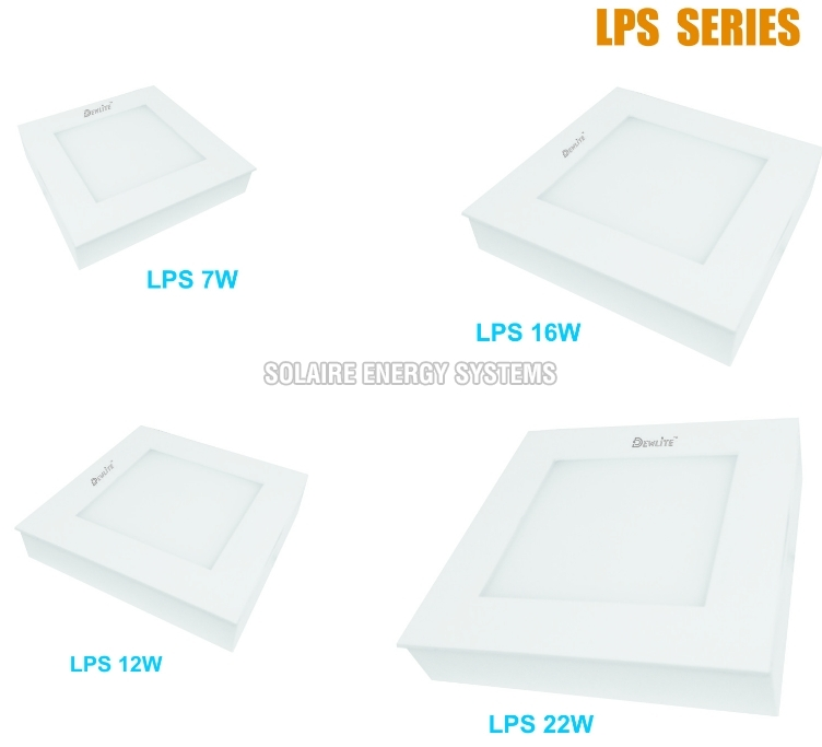 LPS Series LED Surface Panel Lights