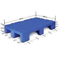 Ercon 9 Legged HDPE Pallet