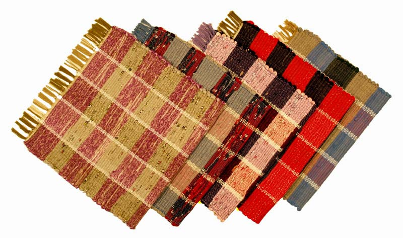 Cotton Checkered Rugs