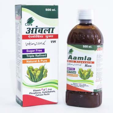 Cura Aamla With Aloevera Ras