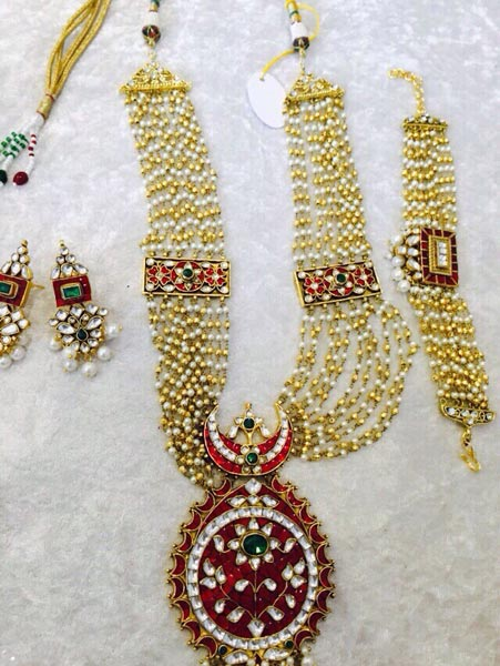 Kundan Necklace Set 01