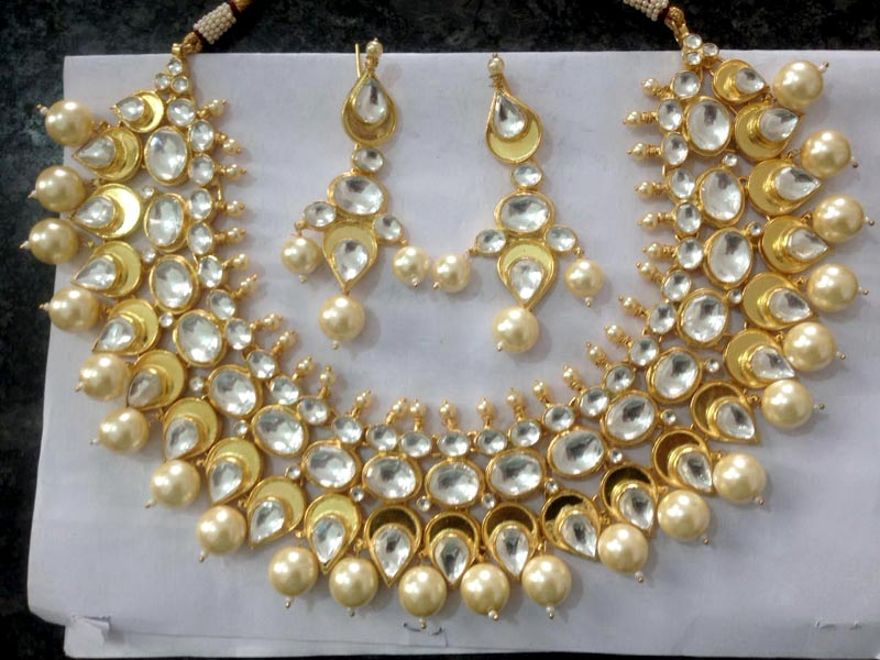 Kundan Necklace Set 02