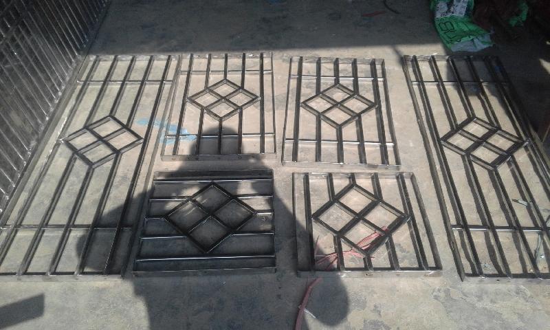 Stainless Steel Window 01