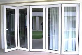 Aluminium Frame Glass Doors