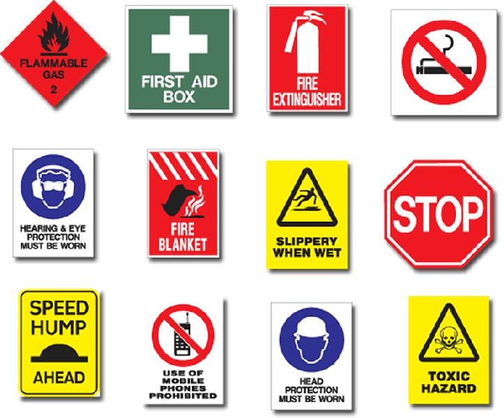 Safety Signages