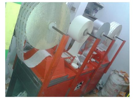 Double Paper Fully Automatic Double Die Dona Making Machine