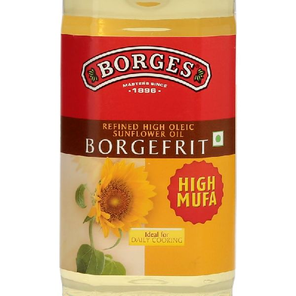1 L Borges Borgefrit Refined High Oleic Sunflower Oil 06