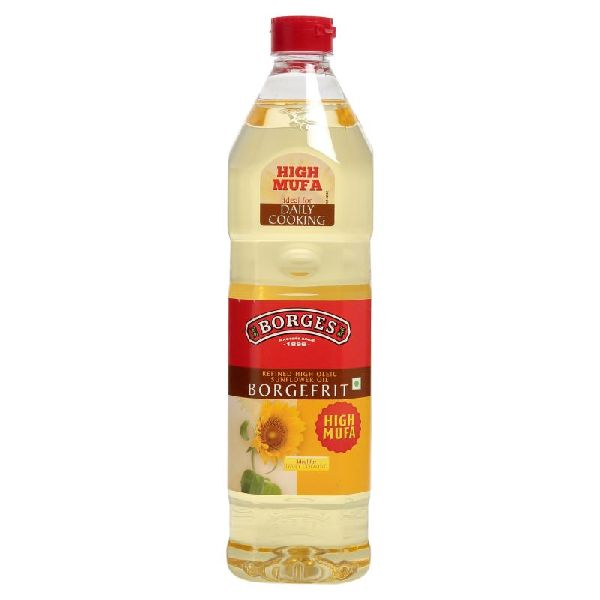 1 L Borges Borgefrit Refined High Oleic Sunflower Oil  01