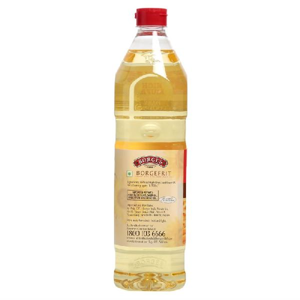 1 L Borges Borgefrit Refined High Oleic Sunflower Oil 04