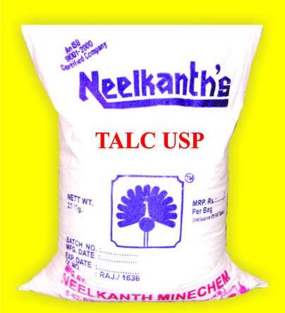 USP Grade Talc Powder