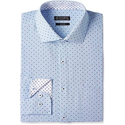 Dotted Mens Formal Shirt