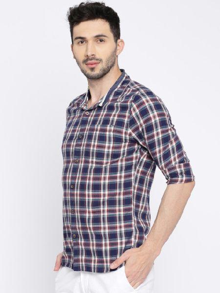 Printed Mens Formal Shirt