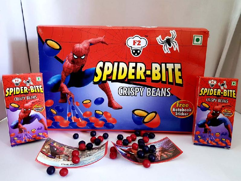 Spider Bite Chocolate Coated Crispy Beans