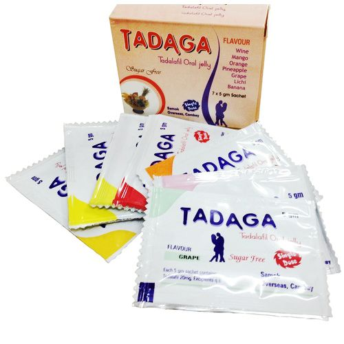 Tadalafil Oral Jelly