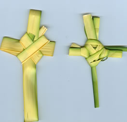 Palm Leaf Cross 01