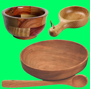 Wooden Household Items 01