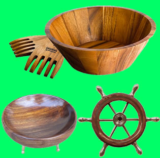 Wooden Household Items 02