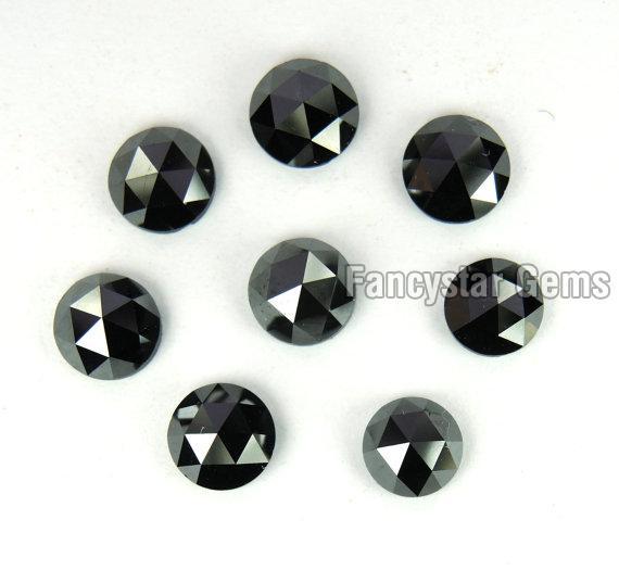 Black Rose Cut Diamond