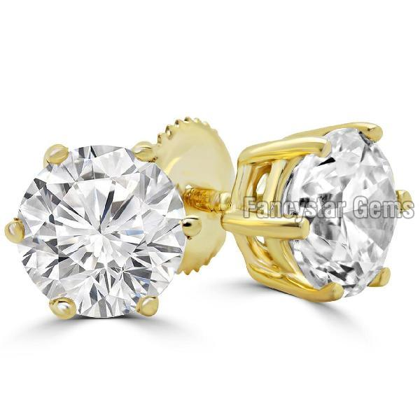Designer Diamond Stud Earring 02