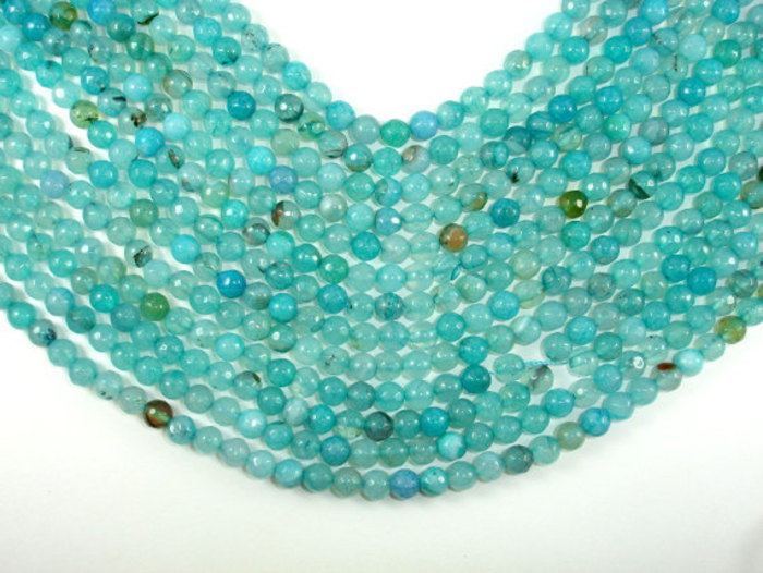 Agate Faceted Beads 02