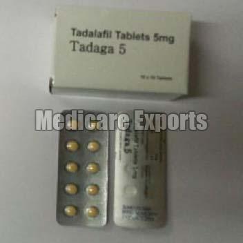 Tadalafil Tablets (5mg)