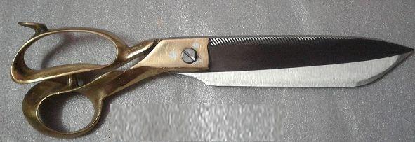 1051 Reti Brass Handle Scissors
