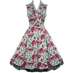Ladies Floral One Piece Dress 01
