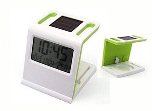 Multi Functional Solar Digital Clock