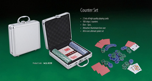 Poker Counter Set