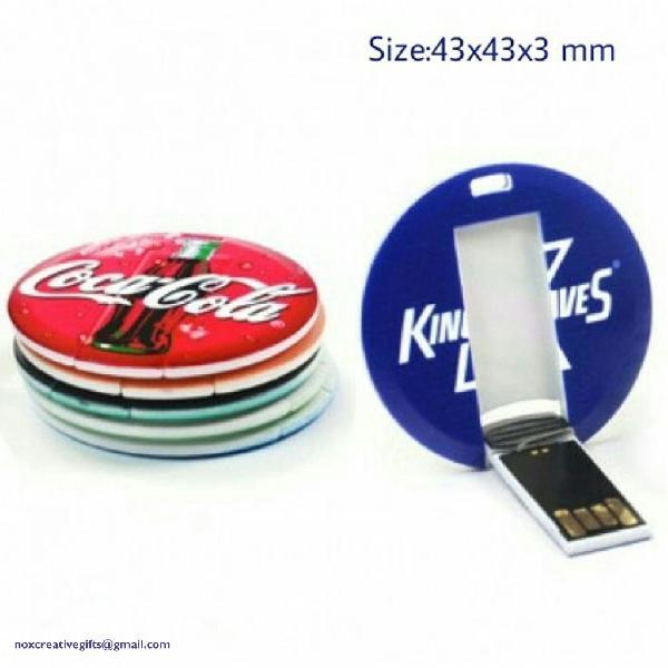 Digital Round Pen Drive