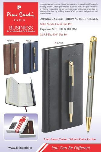 Pierre Cardin Ball Pen & Diary Set