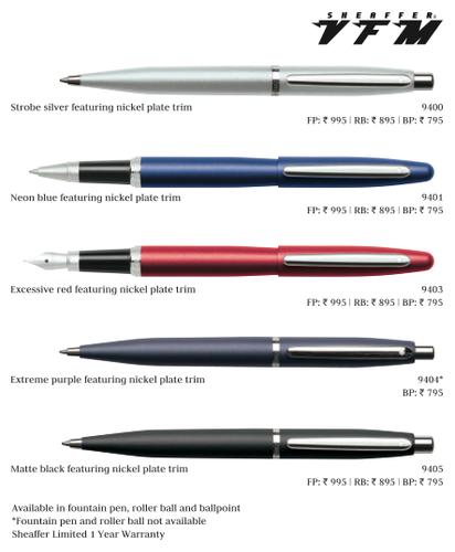 Sheaffer VFM Pens